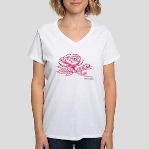Christin Grace Fashion Sense Women's VNeck T-Shirt