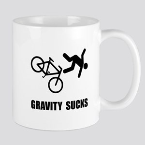 Gravity Sucks Bike Mug