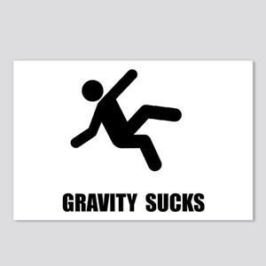 Gravity Sucks Postcards (Package of 8)