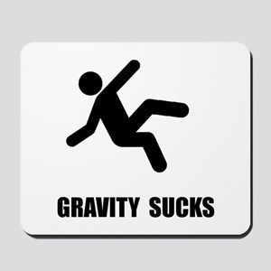 Gravity Sucks Mousepad