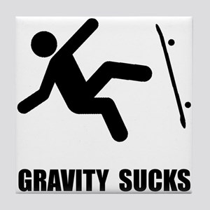 Skateboard Gravity Tile Coaster