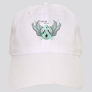 I Wear Teal for my Mom Cap