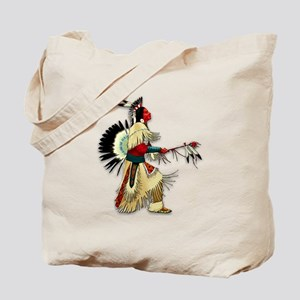 Native American Warrior #5 Tote Bag