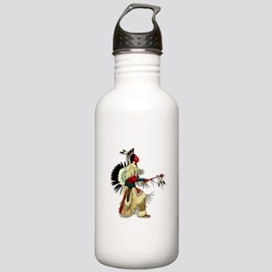 Native American Warrior #5 Stainless Water Bottle