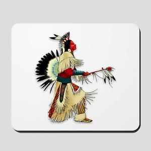 Native American Warrior #5 Mousepad