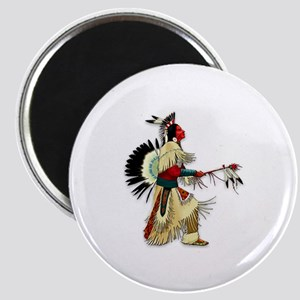 Native American Warrior #5 Magnet