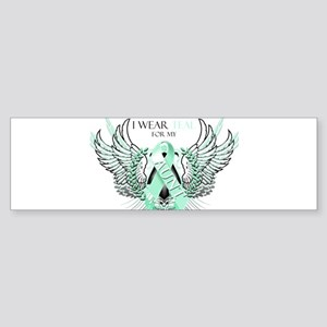 I Wear Teal for my Aunt Sticker (Bumper)