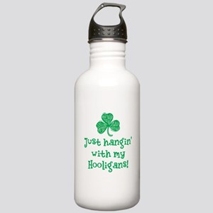 Hangin with my Hooligans - Stainless Water Bottle