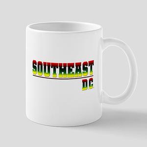 South East (red, blk, gry & y Mug