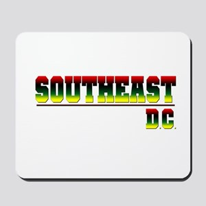 South East (red, blk, gry & y Mousepad