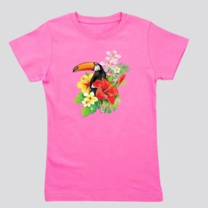 Tropical Toucan Girl's Tee