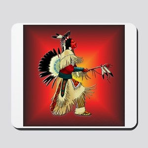 Native American Warrior #6 Mousepad