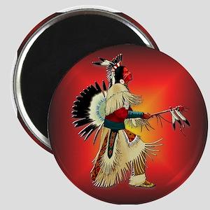Native American Warrior #6 Magnet