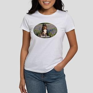 Aussie in the Bluebonnets Women's T-Shirt