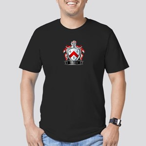 WALSH COAT OF ARMS Men's Fitted T-Shirt (dark)