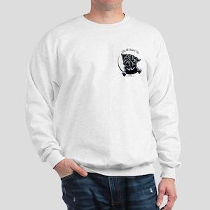 Black Pug IAAM Pocket Sweatshirt