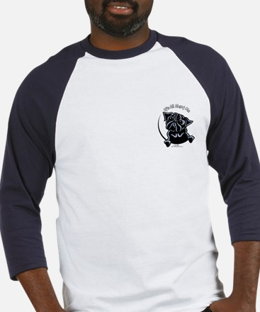 Black Pug IAAM Pocket Baseball Jersey