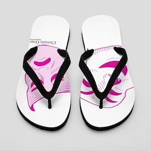 Christin Grace Fashion Sense Flip Flops