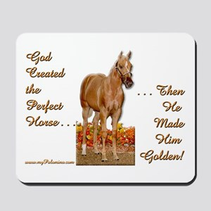 Golden Palomino Mousepad
