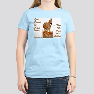 Golden Palomino Women's Pink T-Shirt