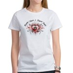 Breakin' Hearts & Throwin' Darts Women's T-Shirt