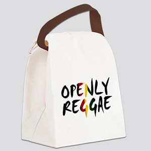 'Openly Reggae' Canvas Lunch Bag
