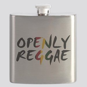 'Openly Reggae' Flask