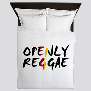 'Openly Reggae' Queen Duvet