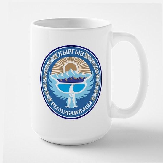 Kyrgystan Emblem Large Mug