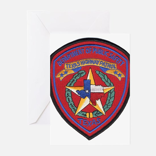 Texas Trooper Greeting Cards (Pk of 10)