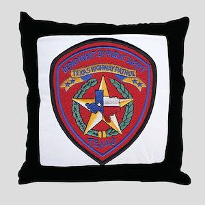 Texas Trooper Throw Pillow