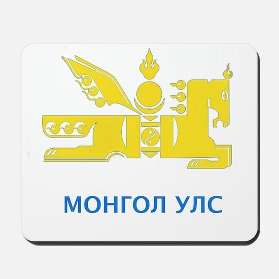 Mongolia emblem Mousepad