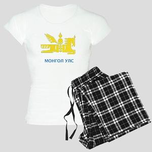 Mongolia emblem Women's Light Pajamas