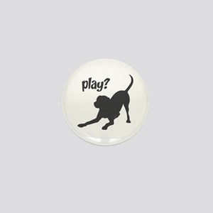 play? Labrador Mini Button