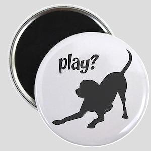 play? Labrador Magnet