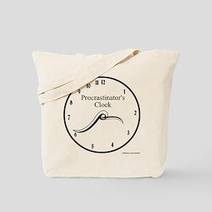 Procrastinator's Clock Tote Bag