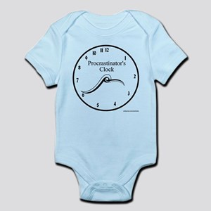 Procrastinator's Clock Infant Bodysuit