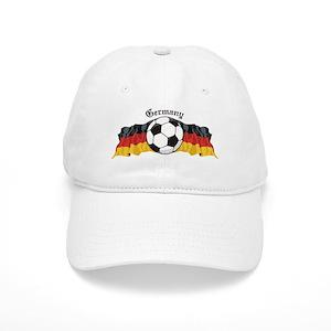 7b8b6f216a5 Germany Soccer Hats - CafePress