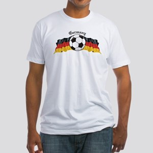 German Soccer / Germany Soccer Fitted T-Shirt