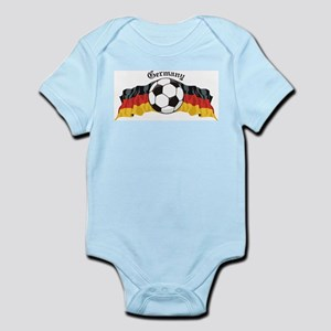 German Soccer / Germany Soccer Infant Creeper