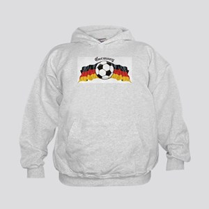 German Soccer / Germany Soccer Kids Hoodie