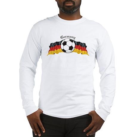 German Soccer / Germany Soccer Long Sleeve T-Shirt