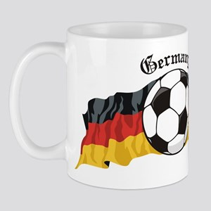 German Soccer / Germany Soccer Mug