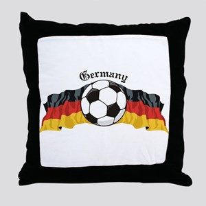 German Soccer / Germany Soccer Throw Pillow