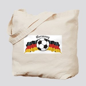 German Soccer / Germany Soccer Tote Bag
