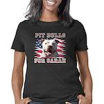 Pit Bulls for Sarah dk Women's Classic T-Shirt