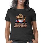 Obama Audacity of BS dk Women's Classic T-Shirt