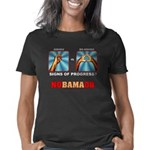 Obama Big Asshole dk Women's Classic T-Shirt