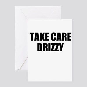 take care - drizzy Greeting Card