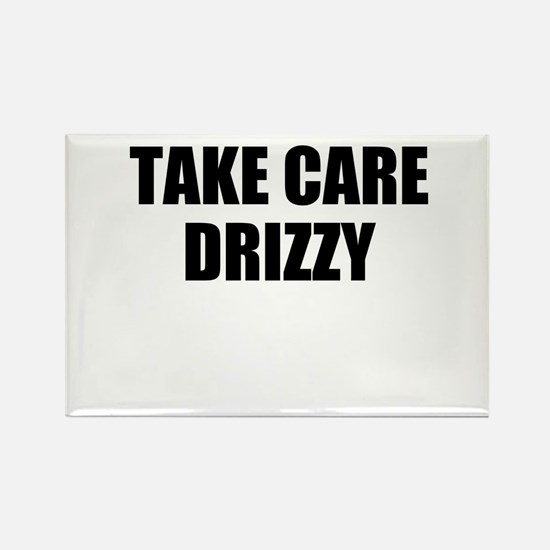 take care - drizzy Rectangle Magnet